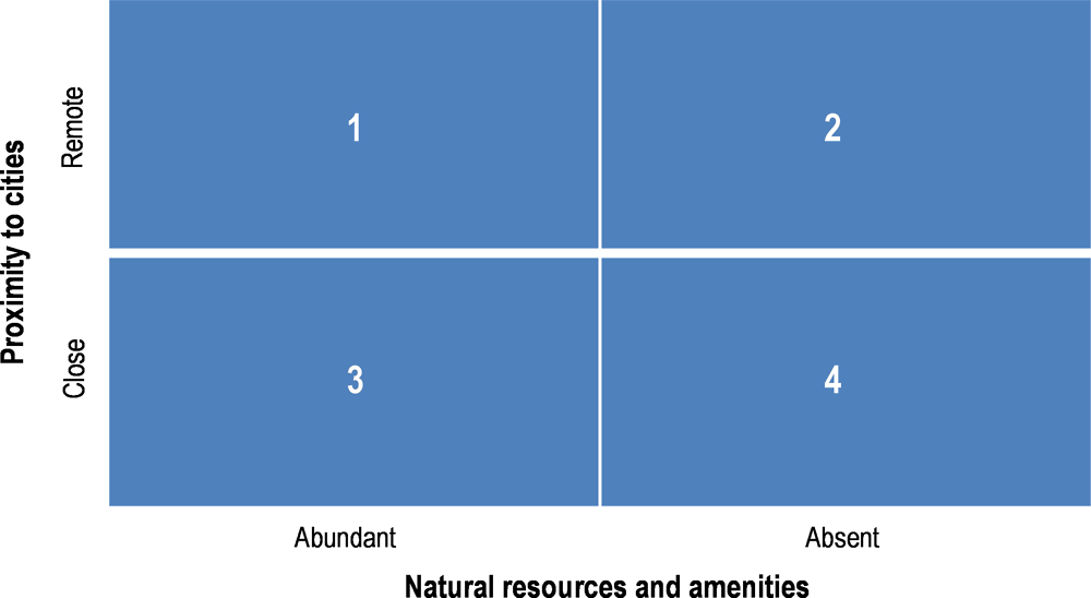 Figure 2.4. Typology for Indigenous economic development in rural areas