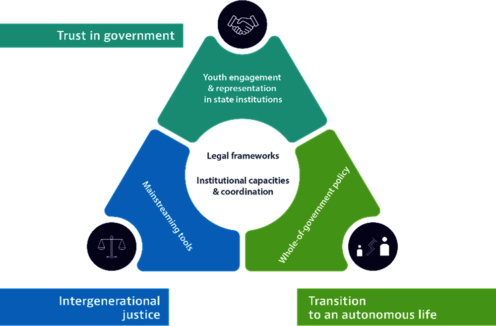 Figure 1.1. Public governance framework for youth empowerment and intergenerational justice