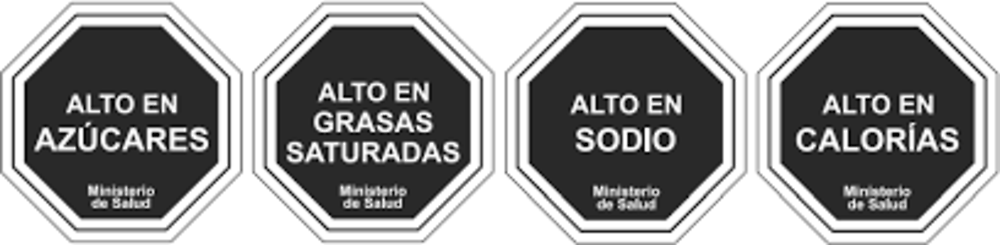 Figure 5.4. Mandatory food labels in Chile