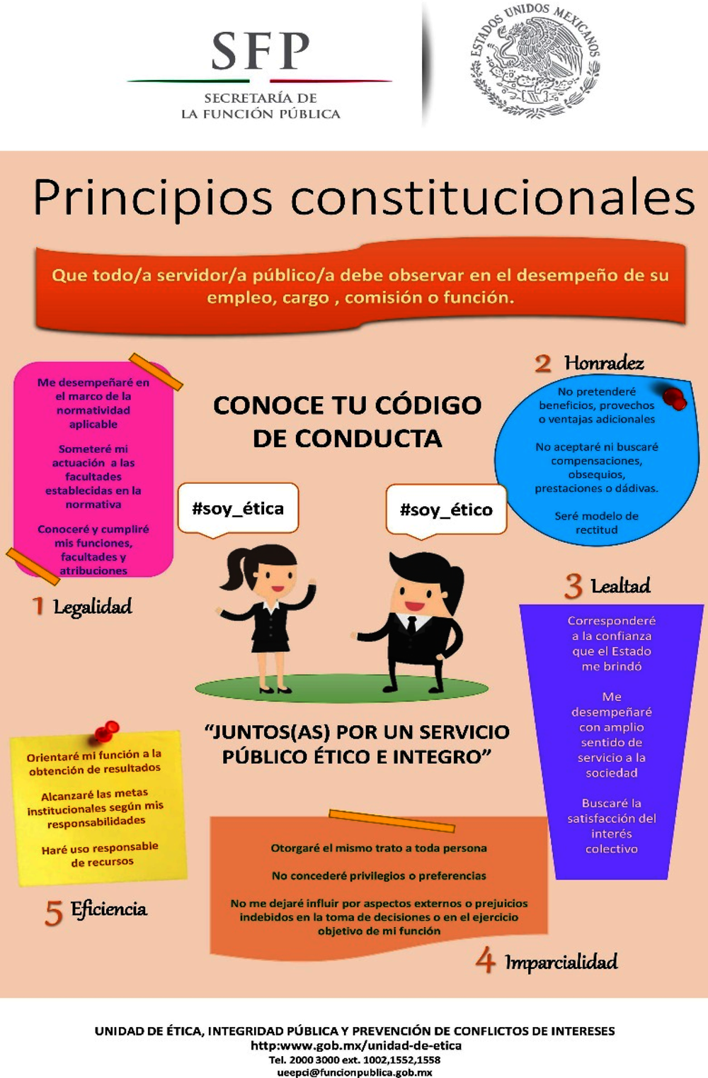 Figure 8.1. Poster of constitutional principles in Mexico