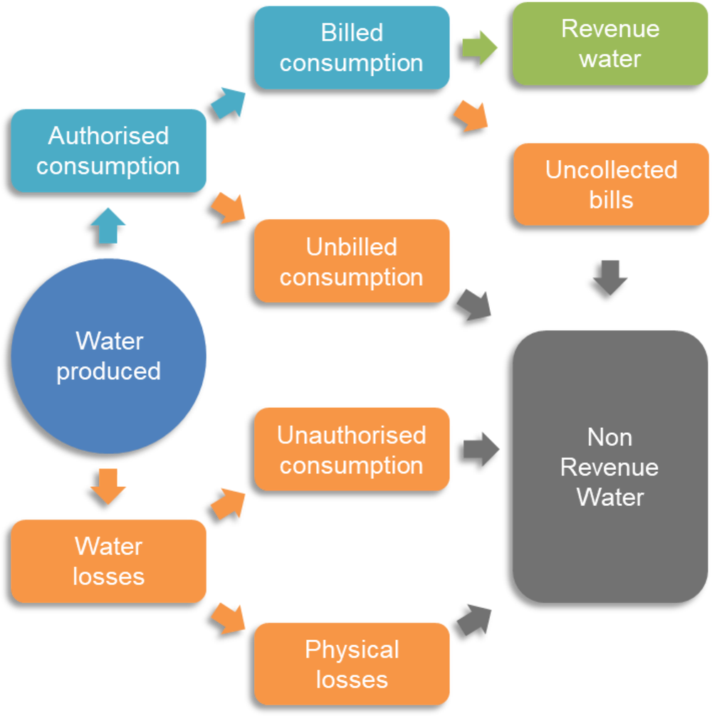 Figure 2.1. Non-Revenue Water